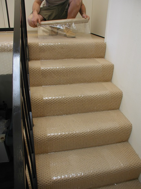 Plastic Hallway Runner Home Safe